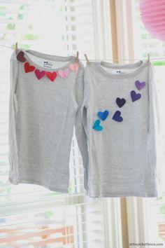 Customização em blusas infantis com feltro - Faça você mesmo - Dicas pra Mamãe