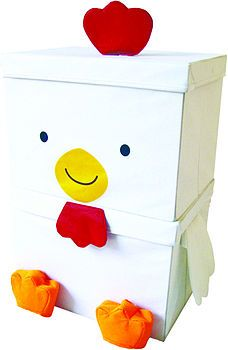large storage box chicken bunny bear by pango productions! | notonthehighstreet.com