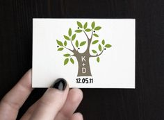 "Wedding monogram - ""Olive tree"""