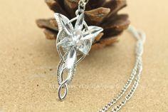 Aragorn Arwen Evenstar Necklace LOTR Lord of the by locketsalon, $7.80
