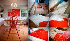 Δύσκολο πράγμα να φτιάξεις το δικό σου πίνακα ζωγραφικής; Δε νομίζουμε! Διαβάστε το άρθρο και ακολουθήστε τα βήματα ! DIY πίνακας ζωγραφικής σε καμβά...
