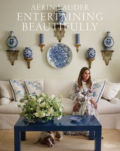 Entertaining Beautifully - by Aerin Lauder (Hardcover) Aerin Lauder, Estee Lauder, Best Coffee Table Books, Cool Coffee Tables, Champagne Party, Thing 1, American Decor, Books To Buy, Gift Guide