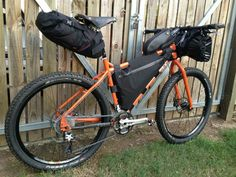 Surly troll bike packing