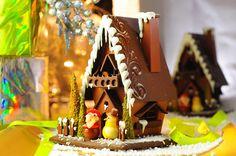 Chocolate X'mas House @ Thomas Trillion (Hong Kong) ♥