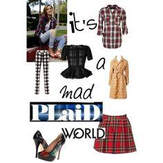 It's a Mad Plaid World
