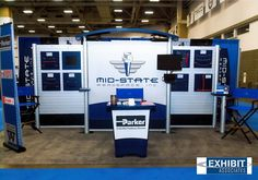 @MidState_Aero booth is configurable for the different shows they exhibit at.   #impact #exhibit #tradeshow