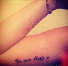 """""""To infinity and beyond"""" Toy Story tattoo"""