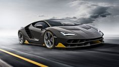 Our kind of birthday cake: new Lamborghini Centenario unveiled at Geneva motor show by CAR Magazine