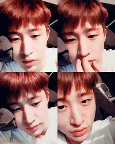 Kim Hanbin Ikon, Ikon Kpop, Ikon Member, Ikon Wallpaper, Always Smile, Top Of The World, Love At First Sight, Yg Entertainment, Amor