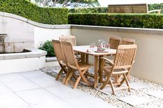Lloyd Gateleg table with Brighton folding chair