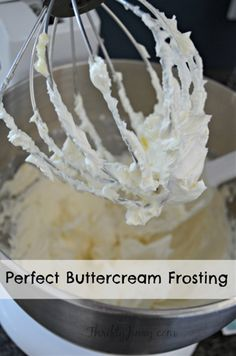 Ingredients: 1 cup unsalted butter, softened 2 cups confectioners sugar 1/4 tsp salt 2 tsp vanilla extract 3 tsp milk