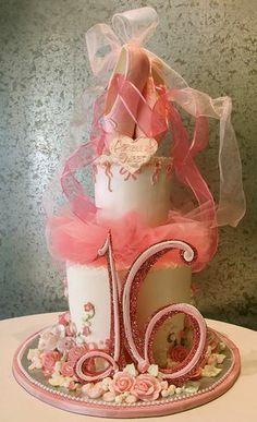 Image result for ballet shoe cake topper
