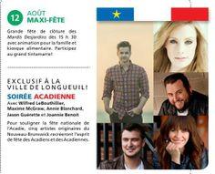 À ne pas manquer le 12 août prochain au Parc Fernand-Bouffard de Longueuil !