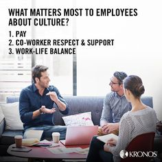 A recent Kronos study examined company culture - who defines it and is accountable for it. Is everyone aligned behind your company culture?