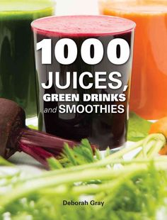 An informative and appealing full-color guide for new and devoted juicers alike. 1000 Juices, Green Drinks and Smoothies is the ultimate guide to juicing, with 100 foundation juices and 900 variations