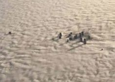 Dallas, TX covered in fog (12/09/2014)