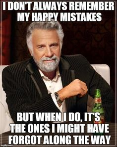 """The Most Interesting Man In The World listens to """"Happy Mistakes"""" by Heffron Drive! You should, too! :)"""