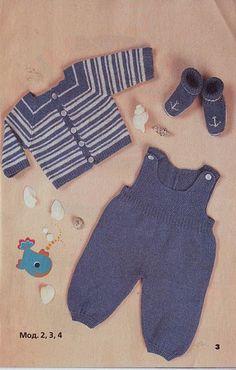 Baby Romper Pattern Free, Crochet Baby Poncho, Baby Cardigan Knitting Pattern Free, Baby Boy Knitting Patterns, Baby Sweater Patterns, Knitting For Kids, Free Knitting, Knitted Doll Patterns, Baby Layette