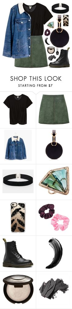 """can't find my way home, but it's through you"" by megan-vanwinkle ❤ liked on Polyvore featuring Hinge, George J. Love, Madewell, Tara Zadeh, ASOS, Jacquie Aiche, Casetify, Mudd, Dr. Martens and Bobbi Brown Cosmetics"