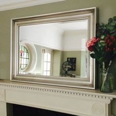 Elegance Silver Gilt Framed Mirror from Ayers and Graces