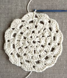 granny circle free pattern and tutorial