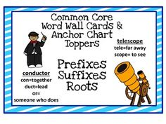Create a Prefix/Suffix word wall!  300 pages of resources!  Roots are a game changer for all readers!