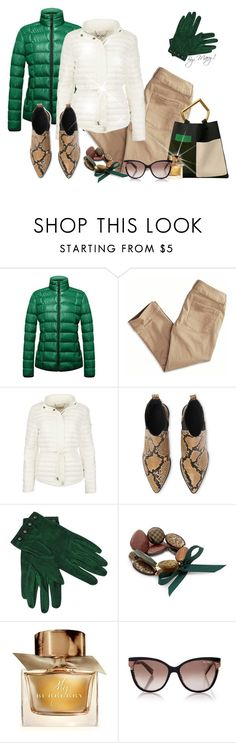 """Perfect Puffer Jackets"" by maryalvar10 ❤ liked on Polyvore featuring American Eagle Outfitters, MICHAEL Michael Kors, Whistles, Hermès, MOOD, Burberry and MaxMara"