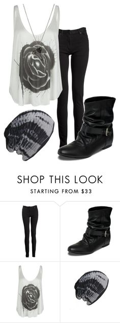 """""""Percy Jackson and the Olympians: Rory Jackson"""" by grandmasfood ❤ liked on Polyvore featuring Maison Margiela, Red Herring, RVCA and AllSaints"""