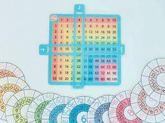 """123 Me gusta, 9 comentarios - Lucía Rey (@tea_crea) en Instagram: """"Hola a todxs!!! El material de hoy es un apoyo para trabajar con las multiplicaciones. ⚡ Lo guay…"""" Rey, Periodic Table, Diagram, Instagram, Periodic Table Chart, Periotic Table"""