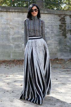 Streetstyle на Неделе моды в Париже. Часть 3 - VOGUE Blog - Блоги - Журнал VOGUE