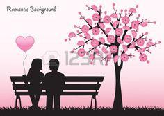 imagenes de siluetas de parejas - Buscar con Google