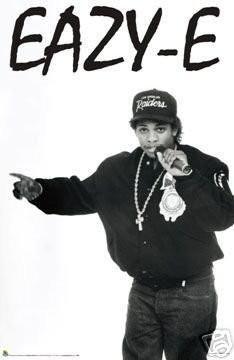 Easy E Poster Easy Eazy-e Eazye - NEW HIP HOP 24x36