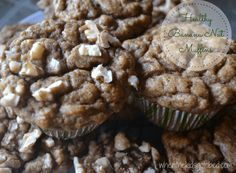 Healthy Banana Nut Muffins – When the Kids Go to Bed