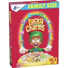 Kids Cereal, Oat Cereal, Cereal Bars, Breakfast Cereal, Chocolate Cereal, Gluten Free Marshmallows, Lucky Charms Marshmallows, Usa Food, Foods With Vitamin E