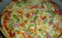 easy recipe of tandoori chicken pizza. Pizza Recipe Without Oven, Veg Pizza Recipe, Pizza Recipes, Cooking Recipes, Cooking Time, Greek Recipes, Indian Food Recipes, Tandori Chicken, Kids Meals