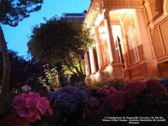 Museo Paparella - Villa Urania, illuminata per la notte europea dei musei