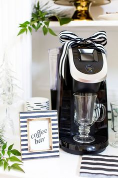 A Festive Keurig Holiday Coffee Bar!