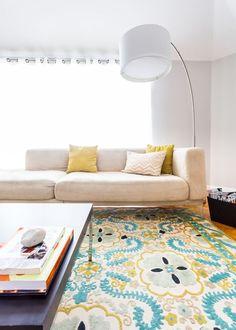 Area Rag Modern Living Room photo by VPR Interior Decor