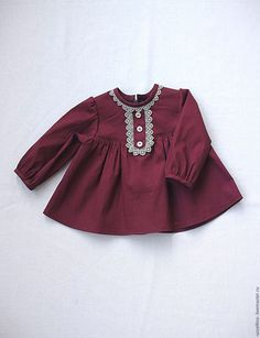 Clothes for girls handmade. Frocks For Girls, Kids Frocks, Toddler Girl Dresses, Little Girl Dresses, Baby Dresses, Dress Girl, Toddler Girls, Baby Girls, Baby Dress Design