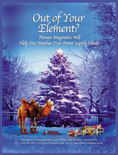 Happy Holidays from Pioneer Magnetics, Inc. your premier switching power supply manufacturer. http://www.pioneermag.com/