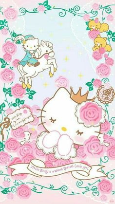 Imagen de cartoon, kawaii, and hello kitty and like OMG! get some yourself some pawtastic adorable cat apparel! Hello Kitty Drawing, Hello Kitty Art, Hello Kitty Themes, Sanrio Hello Kitty, Kitty Cam, Backgrounds Girly, Hello Kitty Backgrounds, Hello Kitty Wallpaper, Sanrio Wallpaper