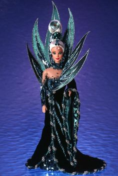 My favorite of all time. And yes, I haz it. Bob Mackie Neptune Fantasy Barbie