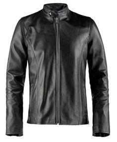 Soul Revolver Evolver Classic Leather Jacket – Black