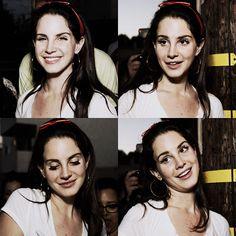 """""""Cute"""" Lana Del Rey - By Facebook"""
