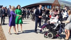 Prince William and Catherine, the Duchess of Cambridge, in Canberra. Photo: Megan Doherty