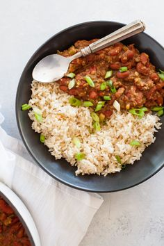This Vegan Red Beans and Rice recipe may not be traditional (see also: it's vegan), but it certainly is tasty, bold, and easy!