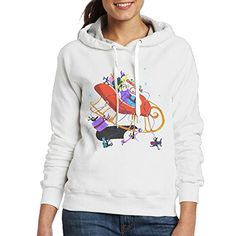 Arthur Christmas Womens Hoodie XXL White *** You can find out more details at the link of the image.