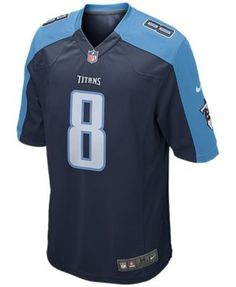 29c082dc5 Nike Men s Marcus Mariota Tennessee Titans Game Jersey - Blue XXL Tennessee  Titans Game