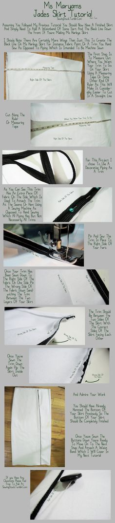 Sewingstuck - Jade Skirt Tutorial Part Two by Mostflogged