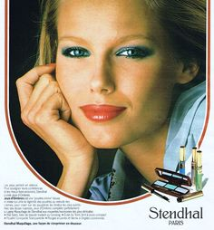 Stendhal Cosmetics Ad, France 1977